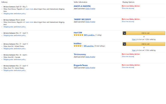 Amazon Shop Safe