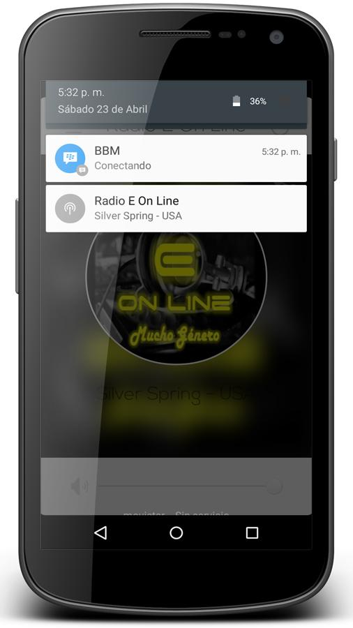 Radio E On Line- screenshot