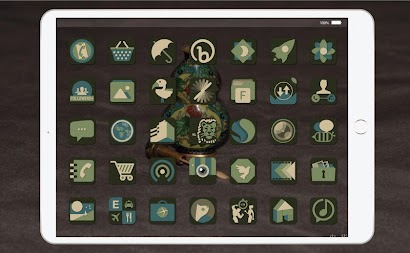 Enamel Icons - Icon Pack APK screenshot thumbnail 1