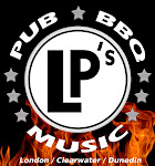 Logo for LP's Pub