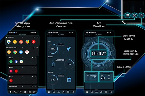 ARC Launcher® 2020 3D Launcher,Themes,App Lock,DIY Screenshot