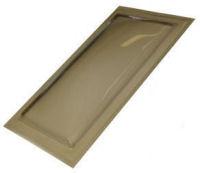 "Sun-Tek® SFMH 22"" x 46"" Tinted Polycarbonate Surface Mount Skylight"