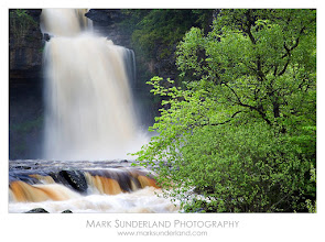 Photo: #WaterfallWednesday  Thornton Force  Here's a shot of Thornton Force on the Ingleton Waterfalls Trail, Yorkshire Dales in full flow after heavy spring rains.  Canon EOS 5D, 24-105mm, ISO 50, 1s at f22