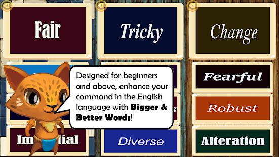 Bigger Better Words: Vocabulary Booster app 1