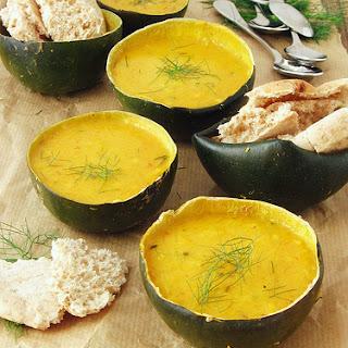 Harissa Spiced Squash Soup.