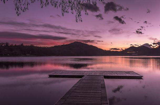 Tramonto sul lago di ivan_castagna