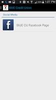 Screenshot of SIUE Credit Union