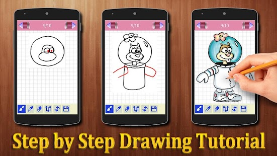 How to Draw Spongebob Squarepants - náhled