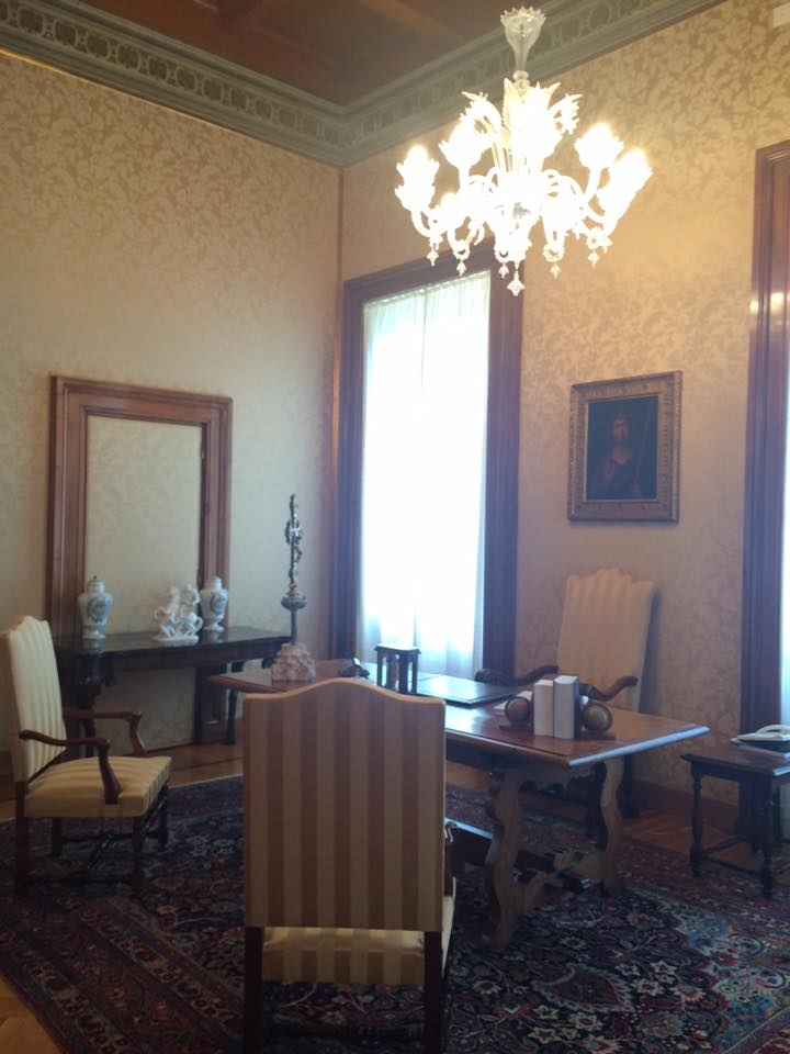 Những căn phòng tại lâu đài Castel Gandolfo mở cửa cho công chúng
