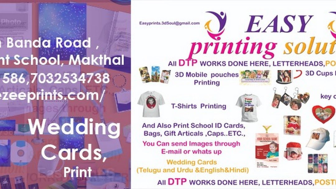 easyprintsoulations - Printing Shop in Makthal
