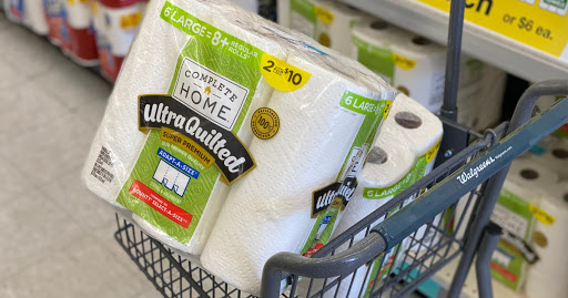 Complete Home Paper Towel 6-Packs Only $4 Each on Walgreens.com