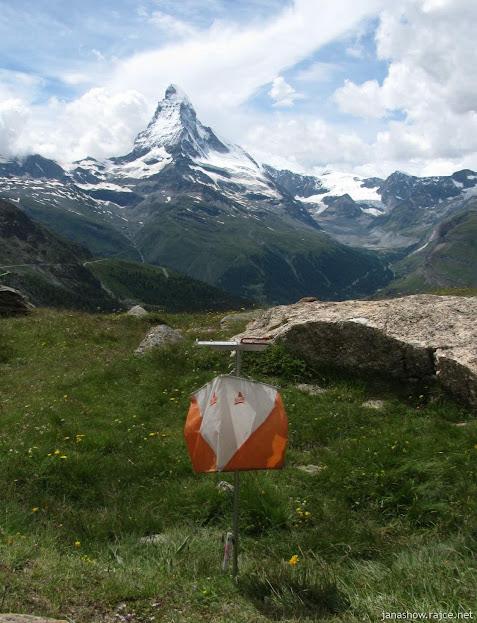 ve švýcarských Alpách