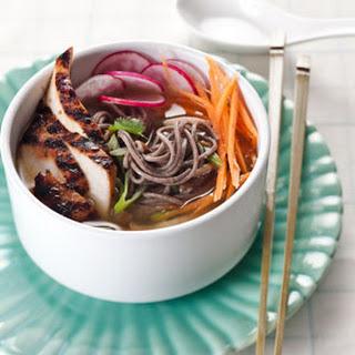 Teriyaki Chicken and Soba Noodles.