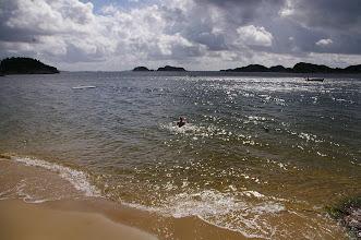 Photo: Seht ihr Calle im Meer?
