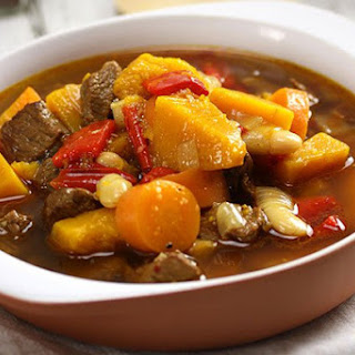 Persian Lamb & Pumpkin Soup