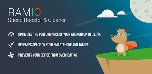 RAMIO Speed Booster & Cleaner app (apk) free download for Android/PC/Windows screenshot