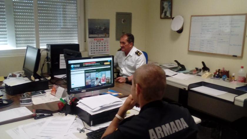Oficinas de la Comandancia Naval de Almería