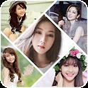 Photo collage, Photo frame icon