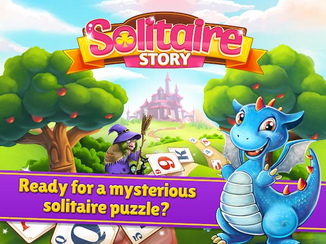 Solitaire Story - Tri Peaks Screenshot