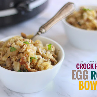 Crock Pot Egg Roll Bowl.