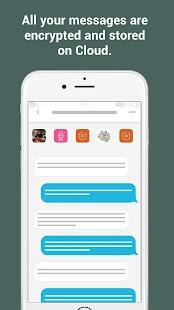 MLock - Secure clouding messages - náhled