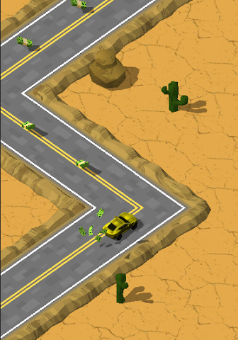 android Most Wanted ZigZag Runner Screenshot 4
