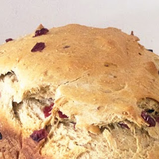 Baking with Julia - Cranberry and Pumpkin Loaf