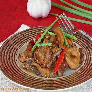 Stir Fry Beef - Thai Beef in Oyster Sauce