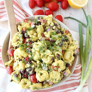 Mexican Tortellini Pasta Salad