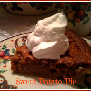 Sweet Potato Pie...a Southern Favorite!