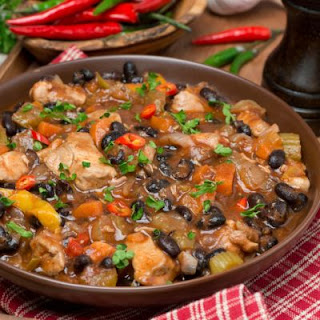 Healthy Chicken and Black Bean Chili