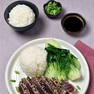 Sesame Ahi Tuna Steaks Recipe