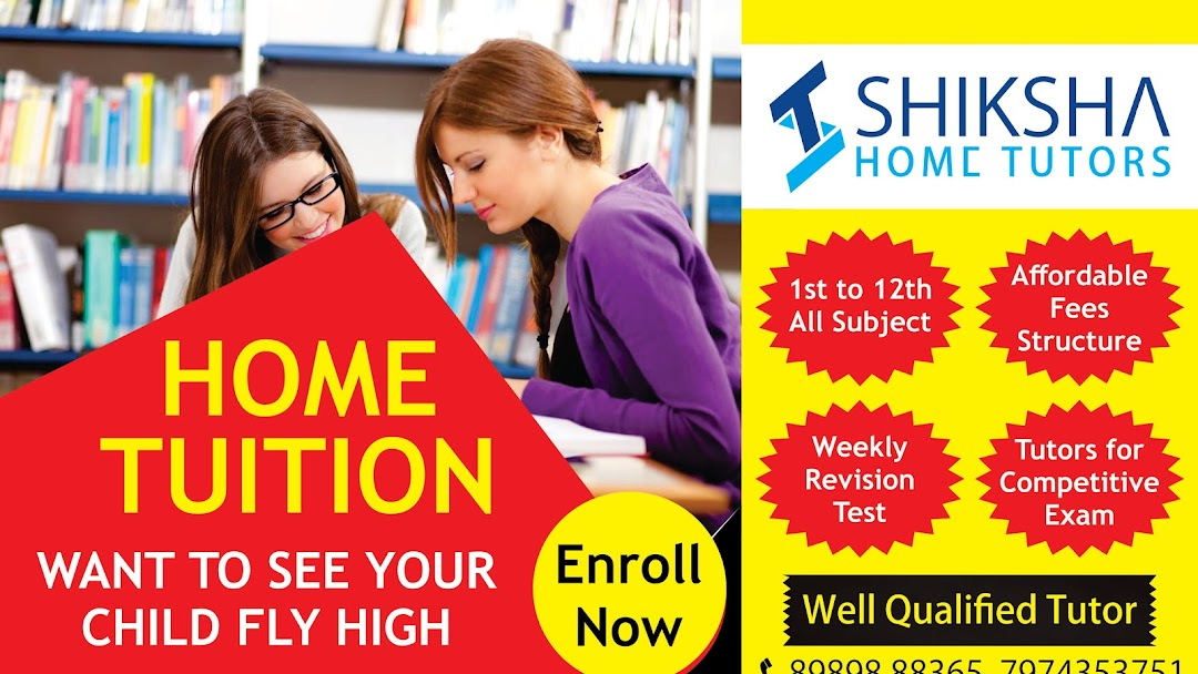 Shiksha Home Tuitions | Home Tutors in Bhopal | Private