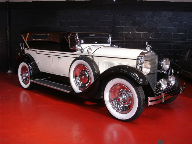Packard Sports Convertible Hire Glasgow