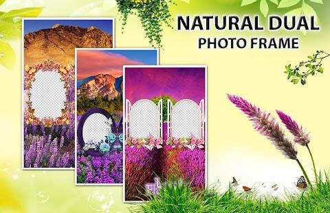Nature Dual Photo Editor - Photo Frame - náhled