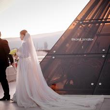 Wedding photographer Kamil Ismailov (kamilismailov). Photo of 11.01.2018