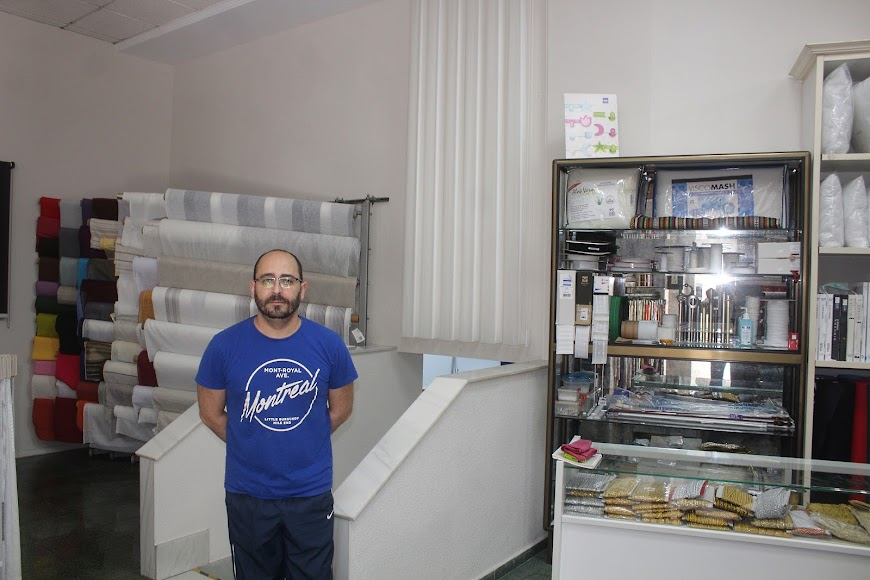 Tapicería Lupión, ubicada en calle Real.