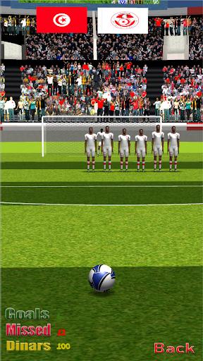 Freekick Tunisia Football League screenshot 1