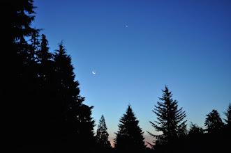 Photo: Morning Moon and Venus