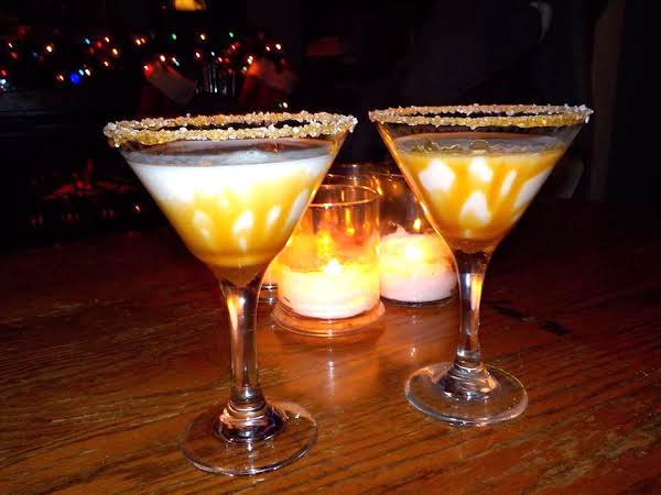 Salted Caramel Martinis