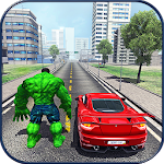 Grand Monster Superhero Vegas Crime City Battle Icon