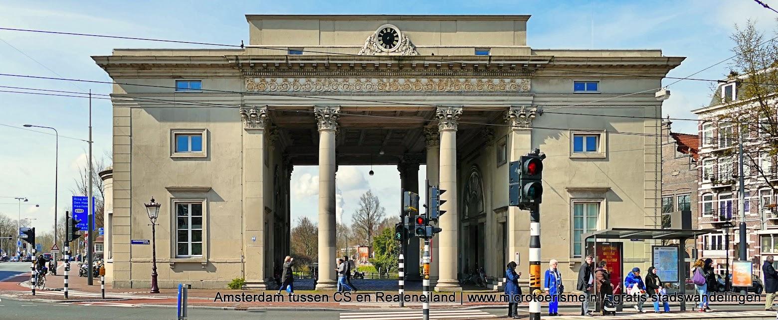 Aangeboden door: Stichting Microtoerisme InZicht Fotoblog Amsterdam Haarlemmerpoort Willemspoort