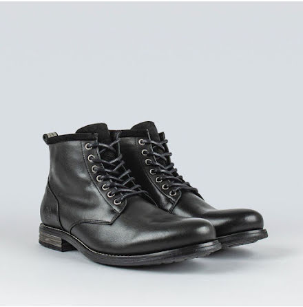 Sneaky Steve Peaker 2 leather shoe black