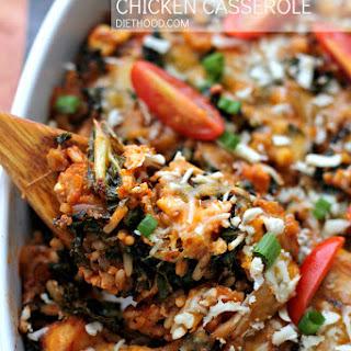 Wild Rice and Kale Chicken Casserole