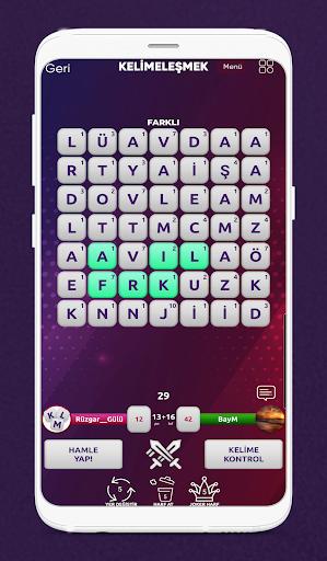 Kelimeleu015fmek - Online Kelime Oyunu 1.0.14 screenshots 3