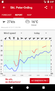 Windfinder - weather & wind forecast - náhled