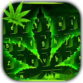 Weed Rasta Keyboard Theme