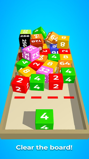 Chain Cube: 2048 3D merge game modavailable screenshots 5
