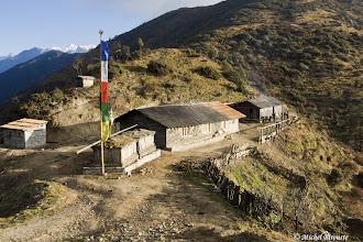 Photo: lodge à Jase pass