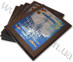 """Photo: Сертифікати офіційного дистриб`ютора торговельної марки """"Kreisel"""". Метал, повнокольоровий друк"""